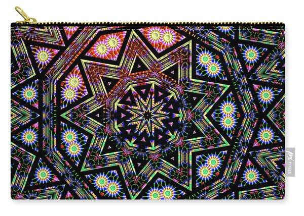 Carry-all Pouch featuring the digital art Jyoti Ahau 200 by Robert Thalmeier