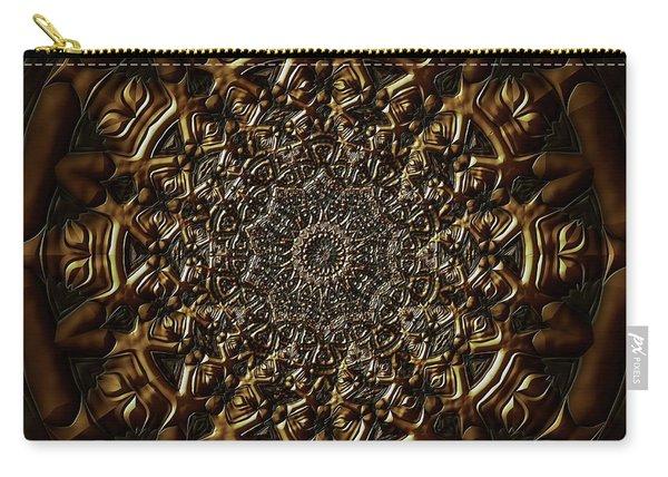Carry-all Pouch featuring the digital art Jyoti Ahau 209 by Robert Thalmeier
