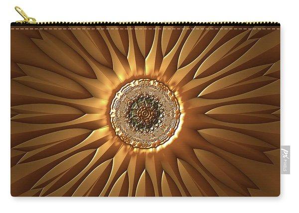 Carry-all Pouch featuring the digital art Jyoti Ahau 210 by Robert Thalmeier