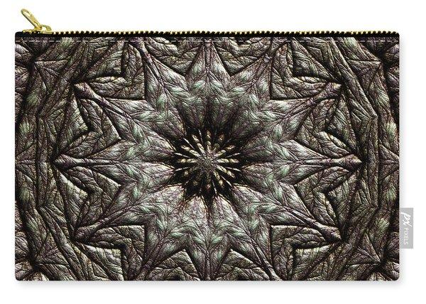 Carry-all Pouch featuring the digital art Jyoti Ahau 213 by Robert Thalmeier