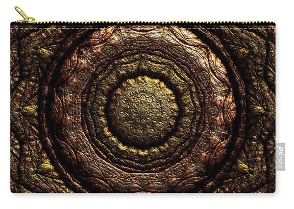 Carry-all Pouch featuring the digital art Jyoti Ahau 221 by Robert Thalmeier