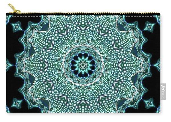 Carry-all Pouch featuring the digital art Jyoti Ahau 995 by Robert Thalmeier