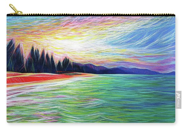 Kailua Surreal Carry-all Pouch