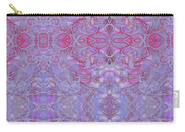 Kaleid Abstract Halo Carry-all Pouch