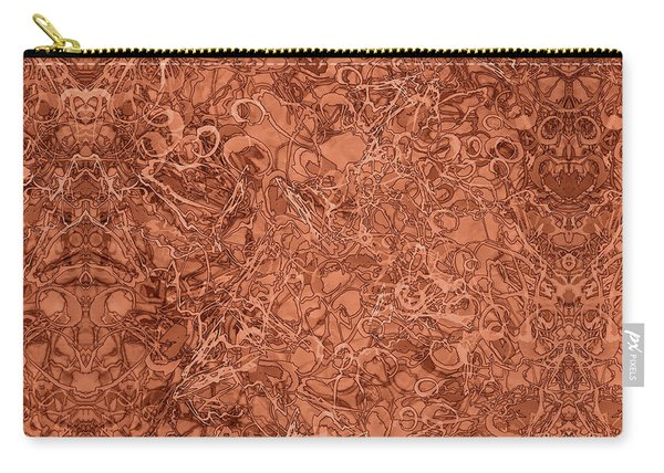 Kaleid Abstract Nest Carry-all Pouch
