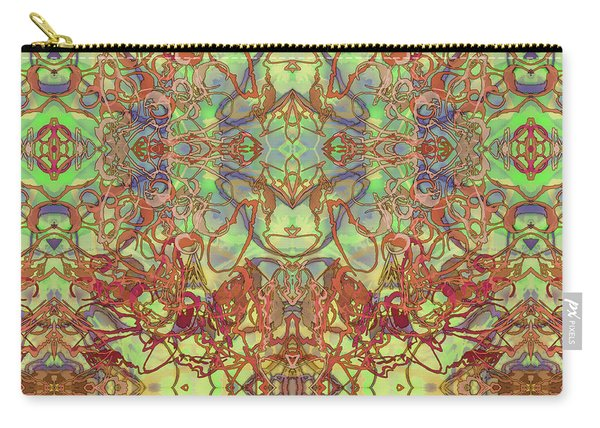 Kaleid Abstract Tapestry Carry-all Pouch