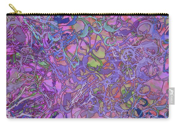 Kaleid Abstract Trip Carry-all Pouch
