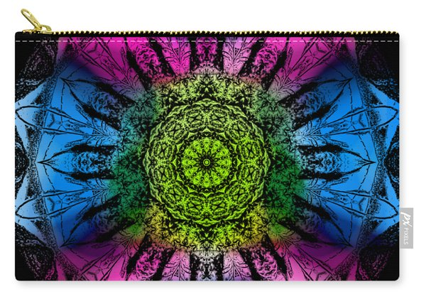 Kaleidoscope - Colorful Carry-all Pouch