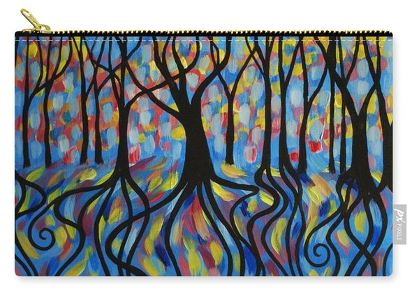 Kaleidoscope Forest Carry-all Pouch