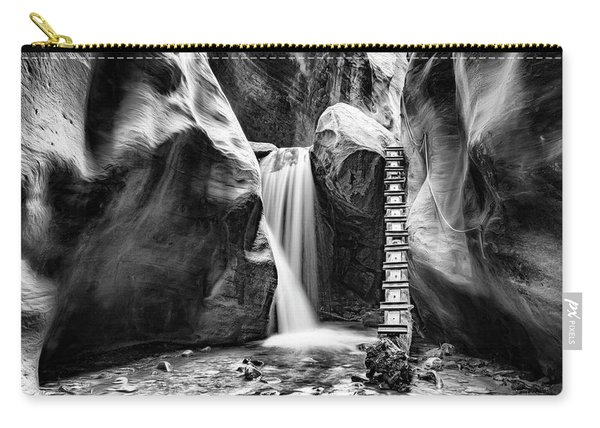 Kanarraville Falls Bw Carry-all Pouch