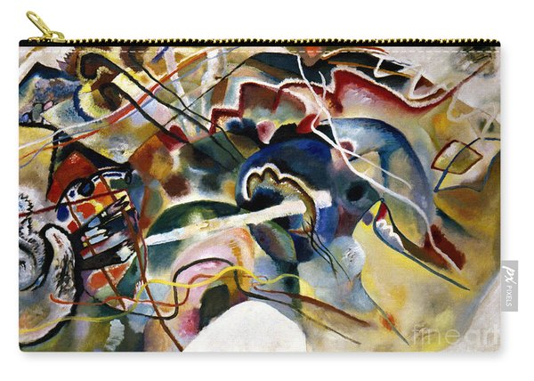 Kandinsky: White, 1913 Carry-all Pouch