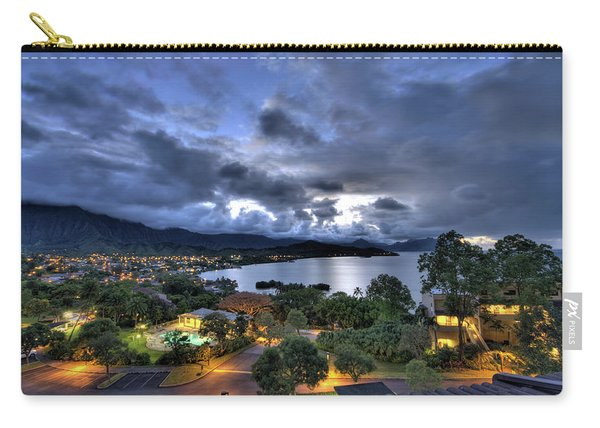 Kaneohe Bay Night Hdr Carry-all Pouch