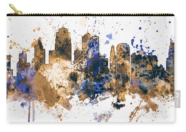 Kansas City Missouri Skyline Panoramic Carry-all Pouch