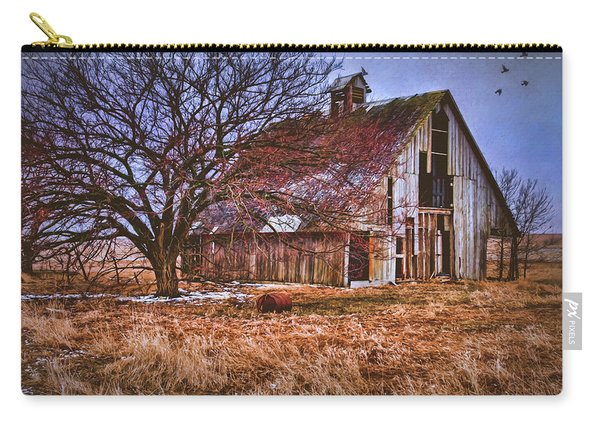 Kansas Countryside Old Barn Carry-all Pouch