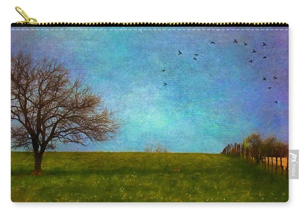Kansas Early Spring Prairie Carry-all Pouch