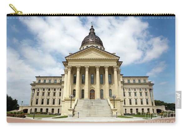 Kansas State Capitol Building Carry-all Pouch