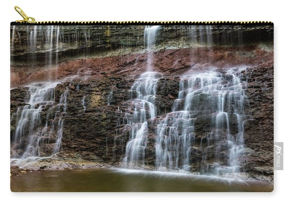 Kansas Waterfall 3 Carry-all Pouch