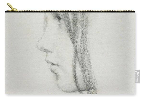 Kate Millet, January 1891 Carry-all Pouch