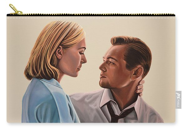 Kate Winslet And Leonardo Dicaprio Carry-all Pouch