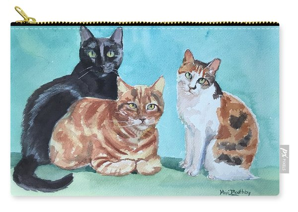 Kates's Cats Carry-all Pouch