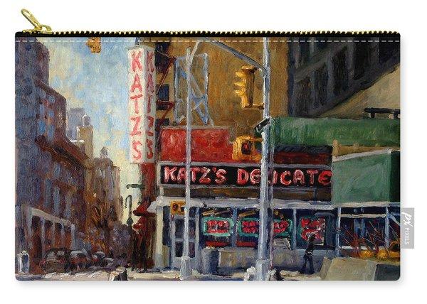 Katz's Delicatessen, New York City Carry-all Pouch