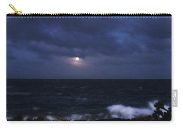 Kauai Moon At Poipu Carry-all Pouch