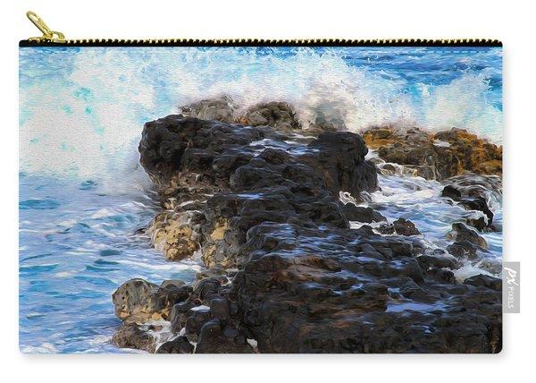 Kauai Rock Splash Carry-all Pouch