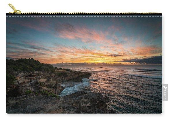 Kauai Seascape Sunrise Carry-all Pouch