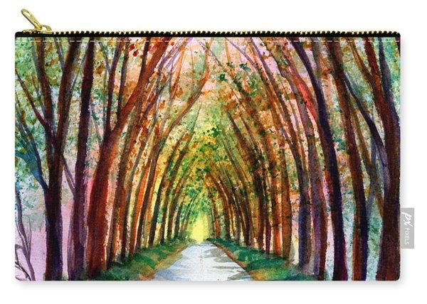 Kauai Tree Tunnel 4 Carry-all Pouch