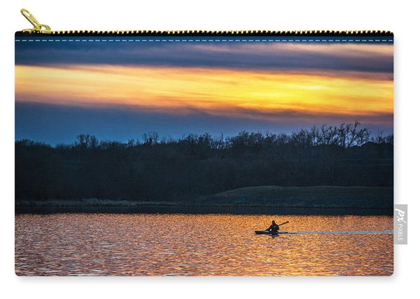 Kayak Sunset Carry-all Pouch
