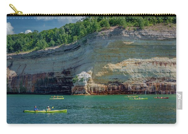 Kayaking The Pictured Rocks Carry-all Pouch