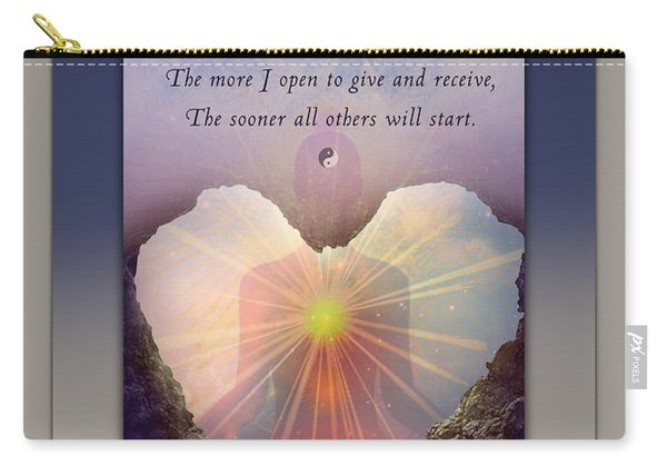 Kaypacha Mantra 3.3.2015 Carry-all Pouch