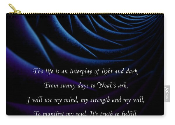 Kaypacha's Mantra 4.28.2015 Carry-all Pouch