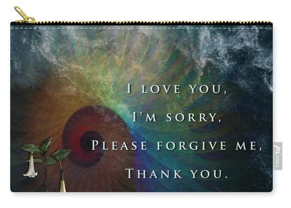 Kaypacha's Mantra 7.15.2015 Carry-all Pouch