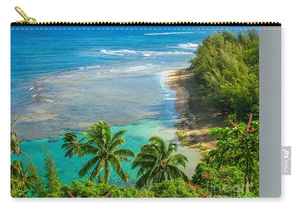 Kee Beach Kauai Carry-all Pouch