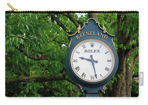 Keeneland Clock Carry-all Pouch