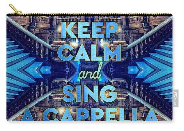 Keep Calm And Go Sing A Cappella Opera Garnier Paris Carry-all Pouch