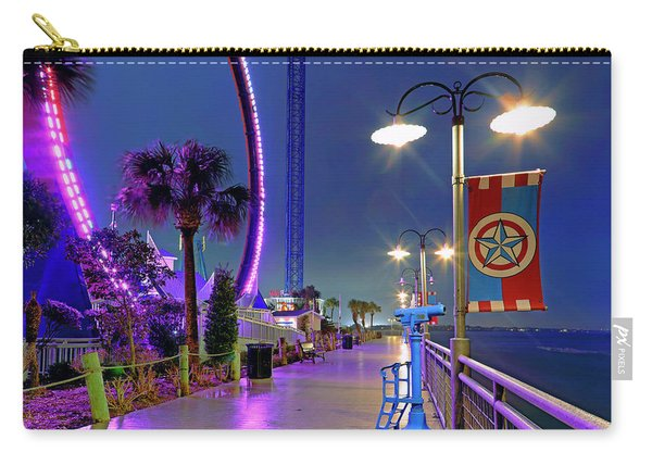 Kemah Boardwalk - Amusement Park - Texas Carry-all Pouch