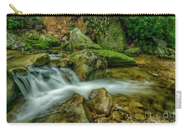 Kens Creek In Cranberry Wilderness Carry-all Pouch