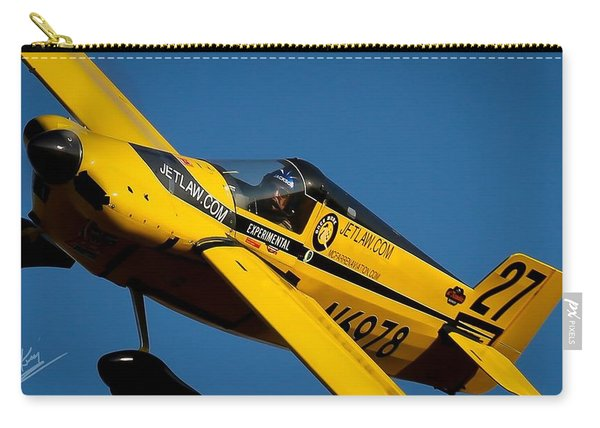 Carry-all Pouch featuring the photograph Kent Jackson In Once More, Friday Morning. 16x9 Aspect Signature Edition by John King