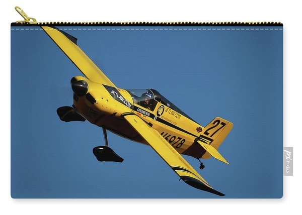 Carry-all Pouch featuring the photograph Kent Jackson In Once More, Friday Morning 5x7 Aspect by John King