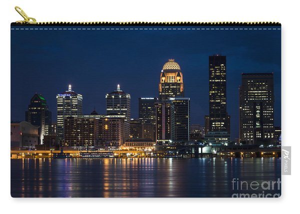 Louisville At Night Carry-all Pouch