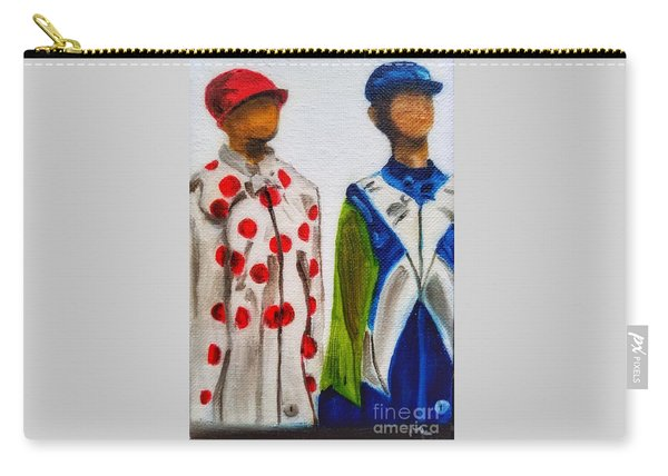 Kentucky Derby Jockey Mannequins Carry-all Pouch