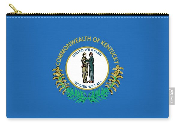 Kentucky State Flag Carry-all Pouch