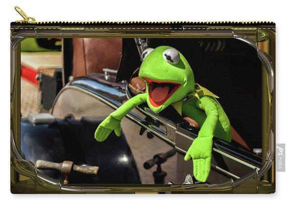 Kermit In Model T Carry-all Pouch