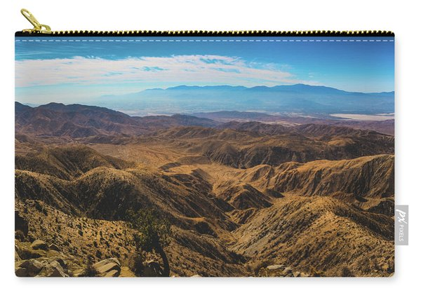 Keys View Overlook Panorama Carry-all Pouch