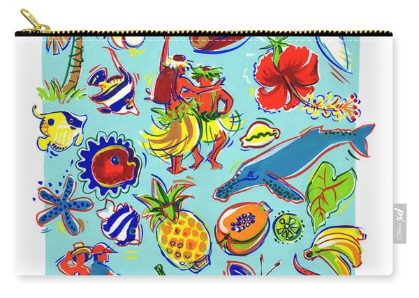 Kia Orana Cook Islands Carry-all Pouch