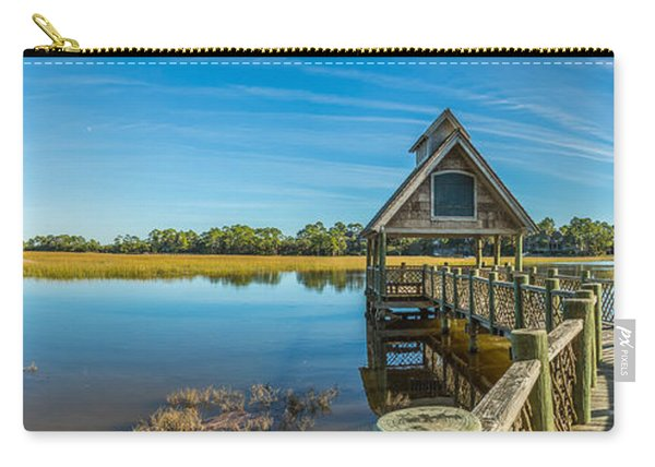 Kiawah Island Boathouse Panoramic Carry-all Pouch
