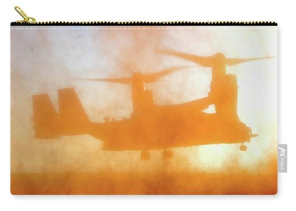 Kicking Up A Dust Storm Carry-all Pouch