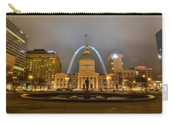 Kiener Plaza And The Gateway Arch Carry-all Pouch